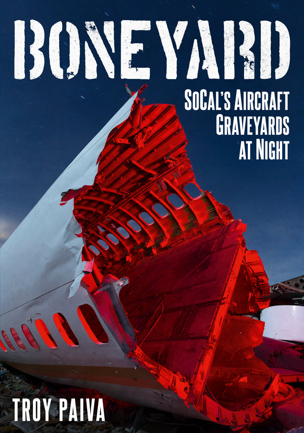 Boneyard: SoCal's Aircraft Graveyards at Night