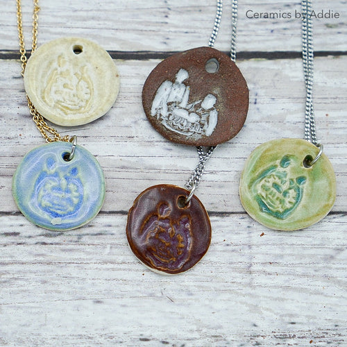 Nativity Pendants