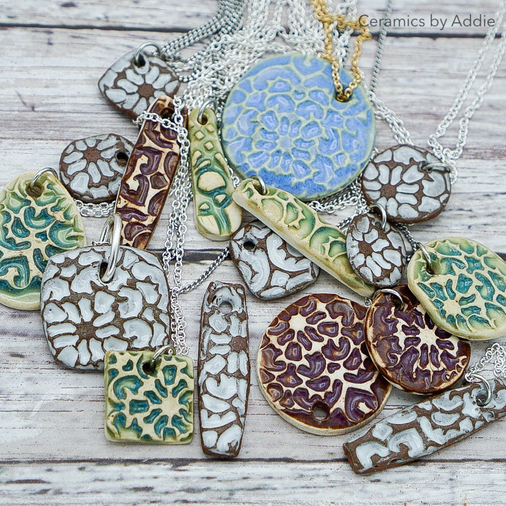 Lace Pendants