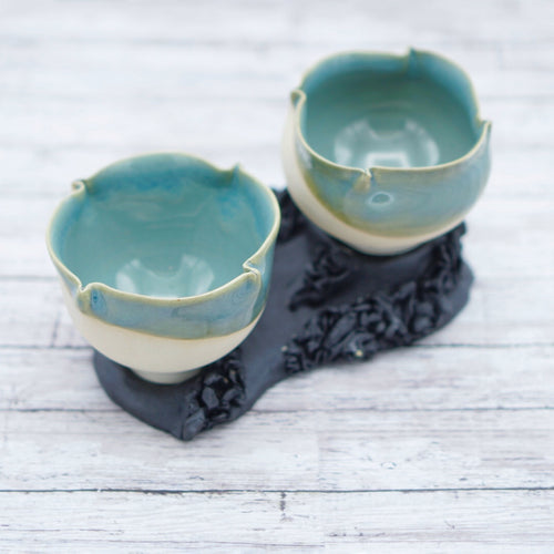 Turquoise Cup set