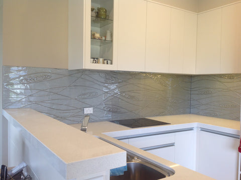 glass kitchen splashback handmade from escape glass