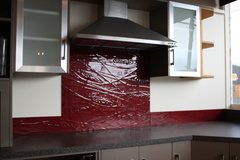 Re slumped splashback invercargill new zealand toughened glass