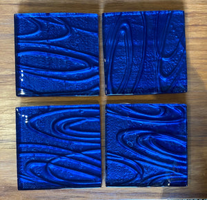 Blue Conformity Coasters
