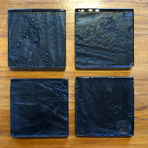 Black Freescape Coasters