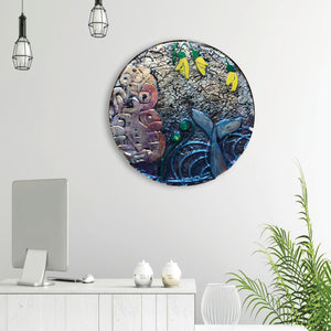 Disc Glass Art - Made to order