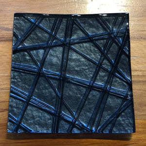 Black Square Platter - Small