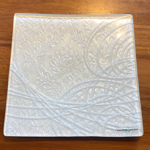White Square Platter - Small