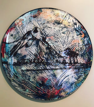 Circumambient Glass Art - 500mm