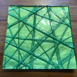 Green Square Platter - Medium