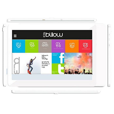 Tablet Billow X101WV2 10'''' Quad Core HD IPS 8 GB Bianco