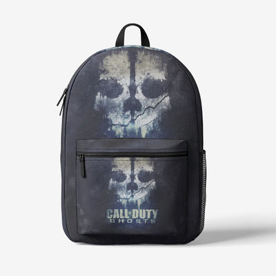 Call Of Duty Ghost Retro Colorful Print Trendy Backpack