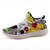 Homer Simpson vs Bugs Bunny Lightweight fashion sneakers casual sports shoes