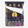 nightmare before christmas quilt Microfiber Duvet Cover