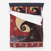 Nightmare Before Christmas - Ugly Sweater black Microfiber Duvet Cover