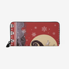 Nightmare Before Christmas - Ugly Sweater black Unisex premium PU Leather Wallet