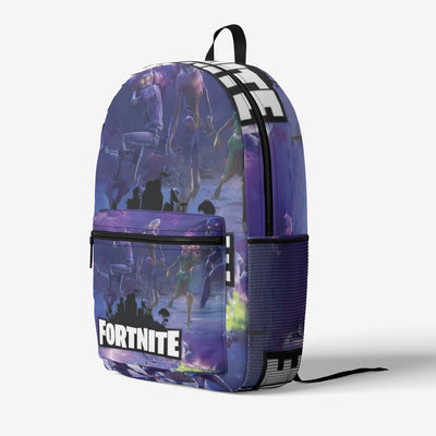 Fortnite Zombie  Retro Colorful Print Trendy Backpack