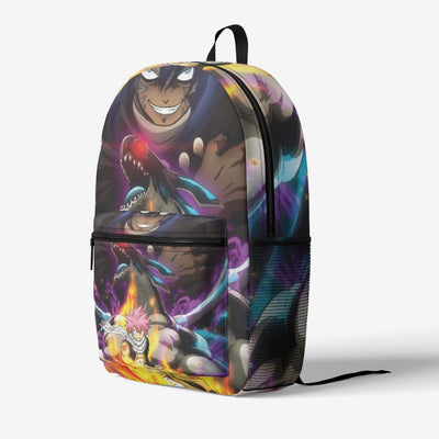 Dragon War Fairy Tail Retro Colorful Print Trendy Backpack