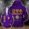 Omega Psi Phi Fraternity Inc Est 1911 all over print
