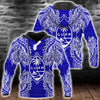 Polynesian Guam Blue all over print