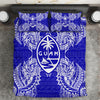 Polynesian Guam Blue Bedding Set All Over Printed