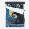 Nightmare Before Christmas - Ugly Sweater blue Microfiber Duvet Cover