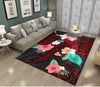 HIBISCUS AND SEA SHARK RUG