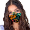 Hippie Color Abstract  Activated Carbon PM 2.5 FM