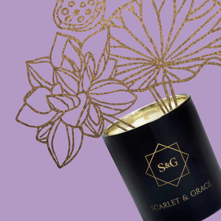 Black Raspberry & Vanilla - 60gm Soy Wax Candle