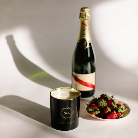 Champagne & Strawberries - 60gm Soy Wax Candle