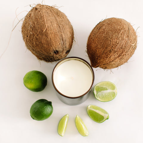 Coconut Lime - 340gm Soy Wax Candle