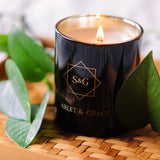 Exotic woods - 340gm Soy Wax Candle