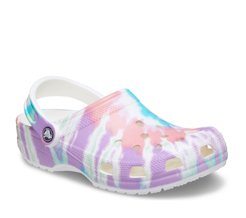 Classic Tie Dye Graphic Clog