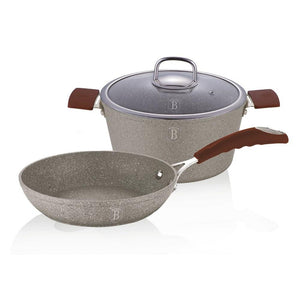 Berlinger Haus Stone Touch Line 3-Piece Cookware Set