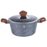 Berlinger Haus Forest Line 24cm Marble Coating Casserole With Lid