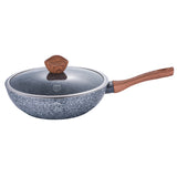 Berlinger Haus Forest Line 28cm Marble Coating Wok With Lid