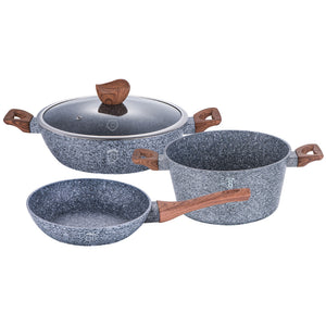 Berlinger Haus Forest Line 4-Piece Marble Coating Cookware Set