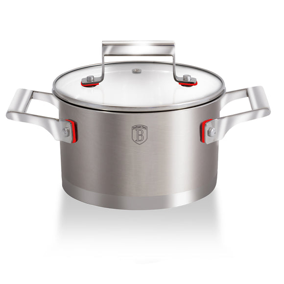 Berlinger Haus 16cm Stainless Steel Casserole - Phantom Line