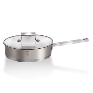 Berlinger Haus 24cm Stainless Steel Deep Frypan - Phantom Line
