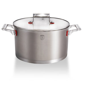 Berlinger Haus 26cm Stainless Steel Casserole - Phantom Line