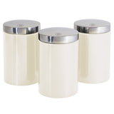Berlinger Haus 3-Piece Canister Set - Cream Metallic