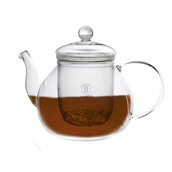 Berlinger Haus 1L Glass Tea Infuser Pot