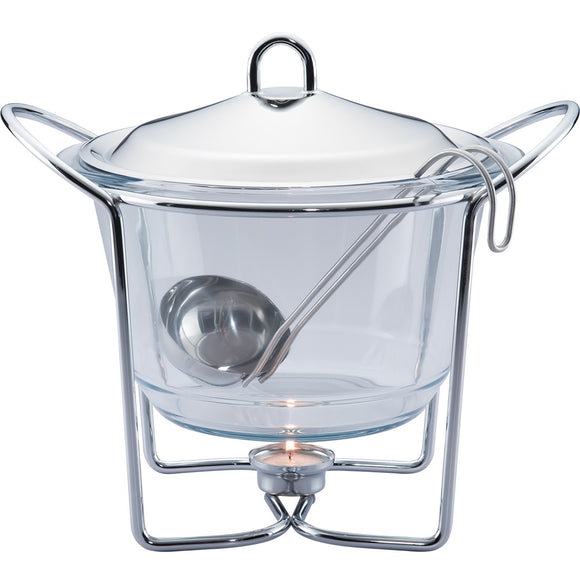 Berlinger Haus 4L Tempered Glass Soup Warmer