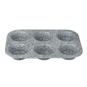 Berlinger Haus 6 Cup Marble Coating Muffin Pan