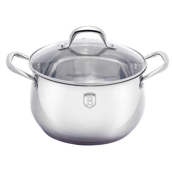 Berlinger Haus Silver Belly Collection 24cm Casserole