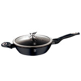 Berlinger Haus 28cm Marble Coating Colour Changing Flameguard Deep Frypan