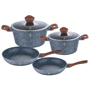 Berlinger Haus 6-Piece Marble Coating Cookware Set