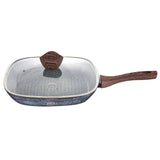 Berlinger Haus Forest Line 28cm Marble Coating Grill Pan With Lid