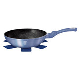 Berlinger Haus 28cm Marble Coating Wok - Royal Blue