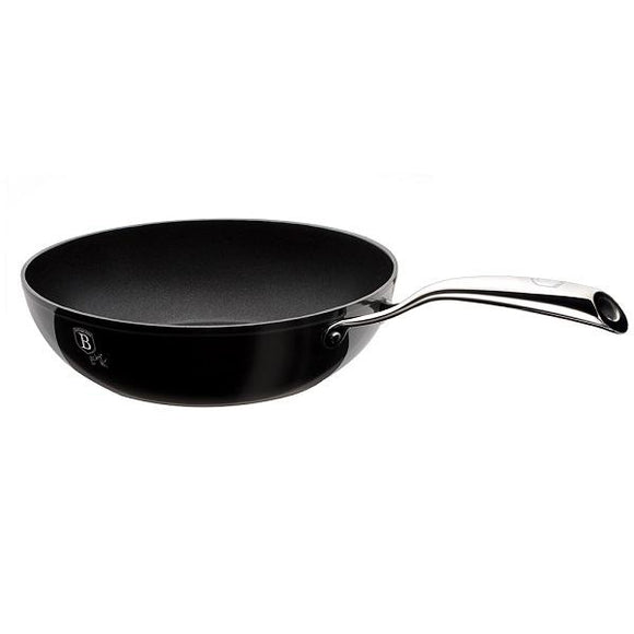 Berlinger Haus 28cm Marble Coating Wok Royal Black