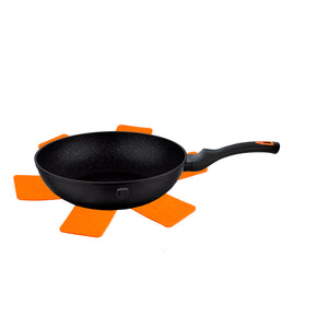 Berlinger Haus Granit Diamond Line 28cm Marble Coating Wok